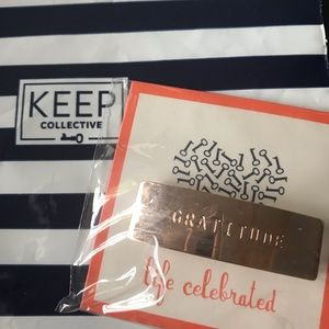 KEEP Collective Say Something Bar - Rose Gold